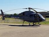French army helicopter — Stockfoto