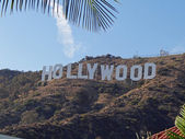 Hollywood signs — Stock Photo
