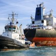 Stock Photo: Cargo ship