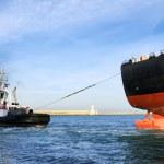 Cargo ship — Stock Photo