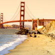 Foto Stock: Golden Gate