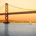 Bay Bridge in San Francisco — Stock Photo