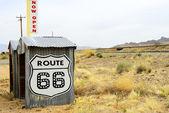 66 号公路 — 图库照片