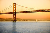 Bay Bridge in San Francisco — Stock Photo