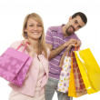 Couple shopping — Foto Stock