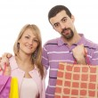 Couple shopping — Stock Photo #28346239