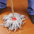 Floor cleaning — Foto Stock