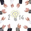 Happy 2014 — Stock Photo #30045205