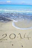 新的一年 — 图库照片