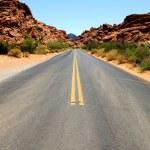 Road in Nevada — Stock Photo