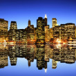 New York City skyline — Lizenzfreies Foto