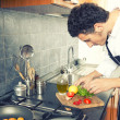 People cooking — Stock Photo #41728379