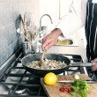 People cooking — Stock Photo #41728609