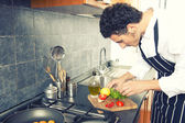 People cooking — Stock Photo
