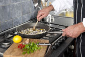 Cooking — Stockfoto