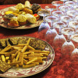Stock Photo: Food for party