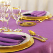 Stock Photo: Fine table setting