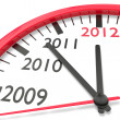 The clock of the years — Stock Photo #5531357