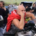 The biker-fest 2012. — Stock Photo #14336459