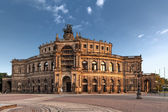Saxon State Opera in Dresden — Stock Photo