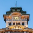 Stock Photo: Tower of Town Hall of Trieste