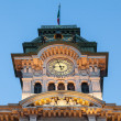 Tower of the Town Hall of Trieste - Stock Photo