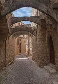 Street of Rhodos — Stock Photo