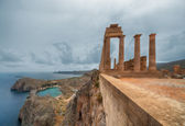 Acropolis of Lindos — Stock Photo