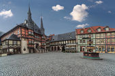 City Hall Wernigerode — Stock Photo