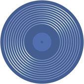 Ilustración musical disco — Vector de stock