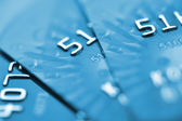 Debit cards. — Stock Photo