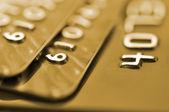 Debit cards — Stock Photo