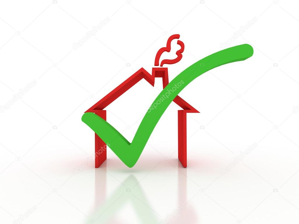 Home inspection. Success metaphor. Image contain clipping path  — Stock Photo #12250408
