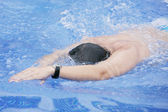 Professional swimmer — Stock Photo