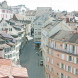 Roofs of Lausanne, Switzerland, in the spring — Stock Photo