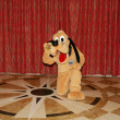 ORLANDO, FEB4:Pluto, a cartoon character created in 1930 by Walt — Stock Photo