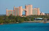 Atlantis Paradise Island in Nassau, Bahamas — Stock Photo