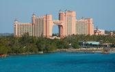 Isla paraíso atlantis en nassau, bahamas — Foto de Stock
