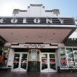 MIAMI, USA - FEB 1: Famous Colony Art Deco Theater renovated for — Stock Photo