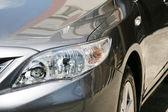 Detalj av en lyxbil — Stockfoto