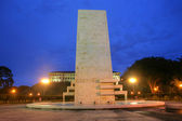Goethals Memorial in Panama. George Washington Goethals (29 June — Foto Stock