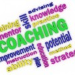 3d imagen about coaching concept — Photo