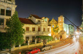Panama City, Casco Viejo in the night — Stock Photo