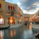 LAS VEGAS - JAN 31: The Venetian Resort Hotel and Casino on Las — Stock Photo