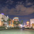 Stock Photo: LAS VEGAS - FEB 3.   Vegas Strip in sunset on February 3, 20