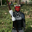 Stock Photo: CARLSBAD, US, FEB 6: Star Wars Darth Maul Minifigure made with l