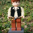 Stock Photo: CARLSBAD, US, FEB 6: Star Wars HSolo Minifigure made with leg