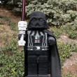 Stock Photo: CARLSBAD, US, FEB 6: Star Wars Darth Vader Minifigure made with