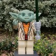 Stock Photo: CARLSBAD, US, FEB 6: Star Wars YodMinifigure made with lego br