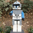 Stock Photo: CARLSBAD, US, FEB 6: Star Wars Captain Rex Minifigure made with